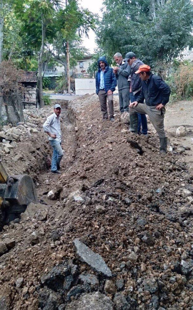 Şahinler Mahallesi'nin içme suyu hattının onarımı tamamlandı