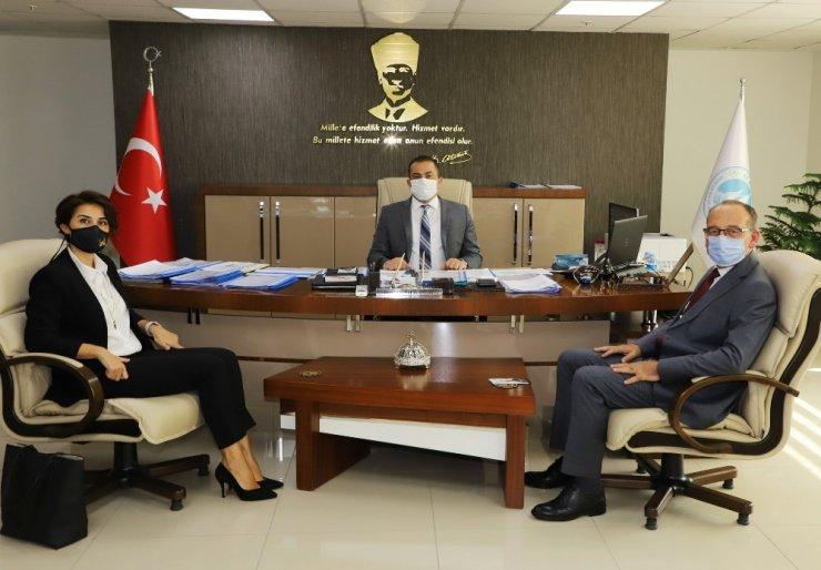Turgutlu'nun altyapı sorunlarını görüştüler