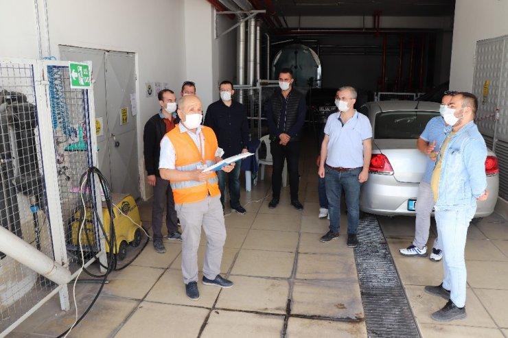 Araç alım satımı yapanlara 'Mesleki Yeterlilik Sınavı' yapıldı