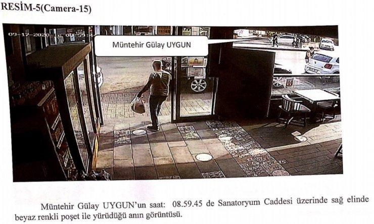 Gülay Uygun'un ölmeden önceki görüntüleri güvenlik kameralarına yansıdı