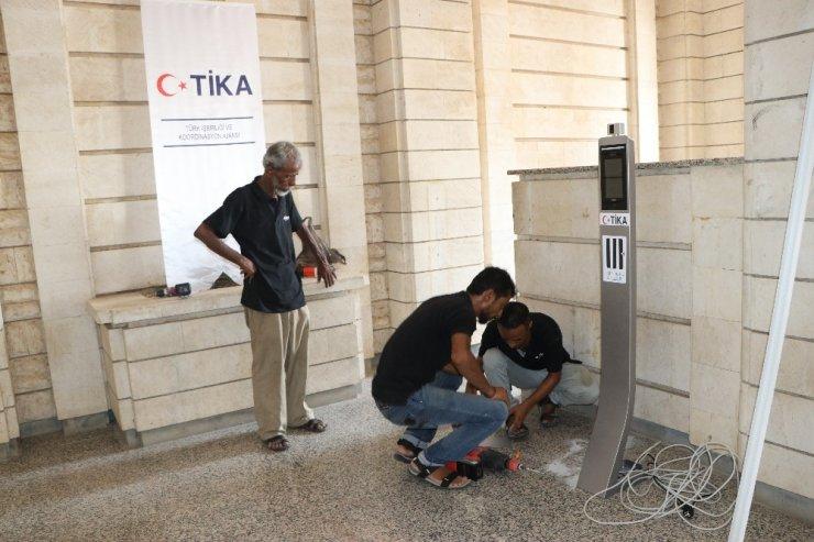 TİKA'dan Yemen'in Covid-19 ile mücadelesine termal kamera desteği