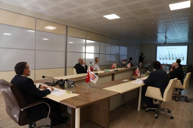 Acil çağrı hizmetleri koordinasyon toplantısı yapıldı