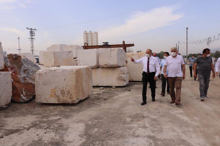 Düzce Mermer fabrikası ile kaynaklara destek veriliyor