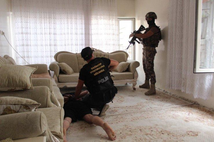 Gaziantep'te 950 polisle 'Narko-Asayiş Operasyonu' başlatıldı