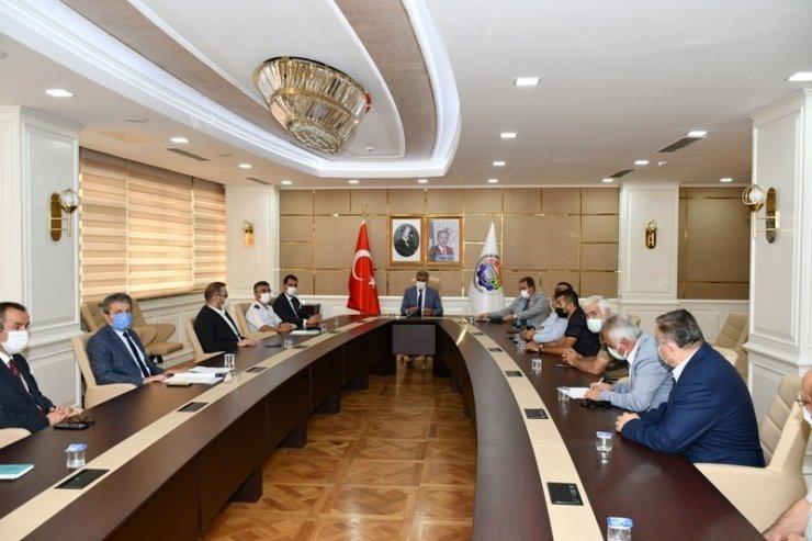 Karabük'te Covid-19 tedbirleri görüşüldü