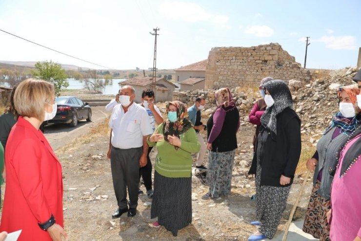 Vali Becel, Kozaklı köylerini ziyaret etti