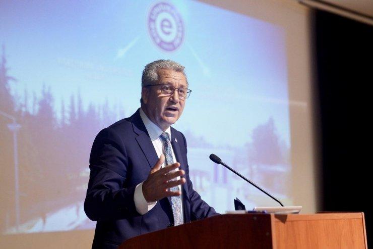 Rektör Budak, uluslararasılaşma çalışmalarını anlattı