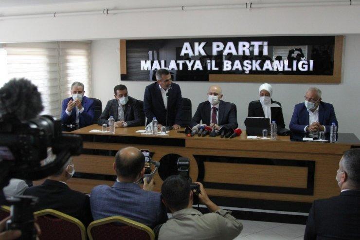 """Bakan Karaismailoğlu: """"Türkiye ve Malatya 18 yılda gerçek hizmet siyasetini gördü, dev projeler ile tanıştı"""""""