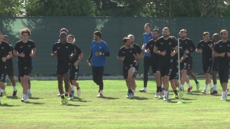 Denizlispor, molasız Konyaspor maçı hazırlıklarına başladı