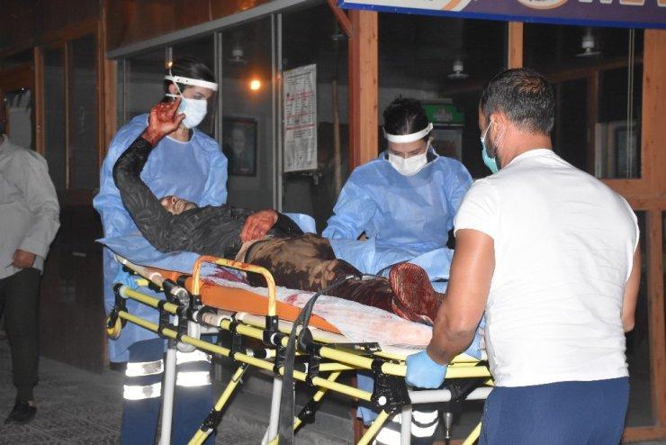 İş yerine giren hırsızı pompalı tüfekle vurdu: 1 ağır yaralı