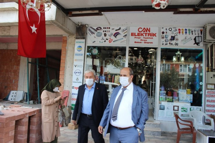 Osmaneli'nde Covid-19 denetimleri devam ediyor