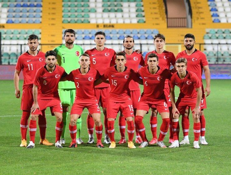 Ümit Milli Takımı'nın İngiltere maçı aday kadrosu açıklandı