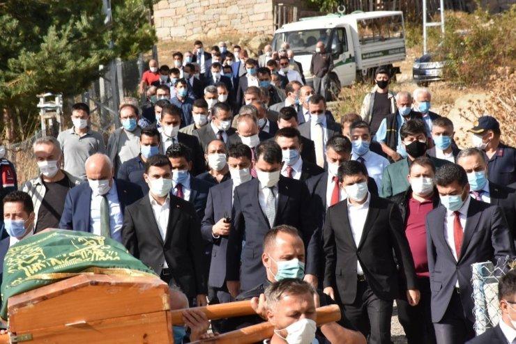 Cumhurbaşkanlığı Özel Kalem Müdürü Hasan Doğan'ın ağabeyi son yolculuğuna uğurlandı