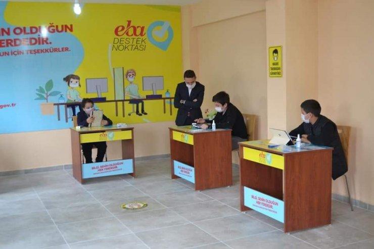 Okulu olmayan 77 Köye EBA destek noktası kurulacak