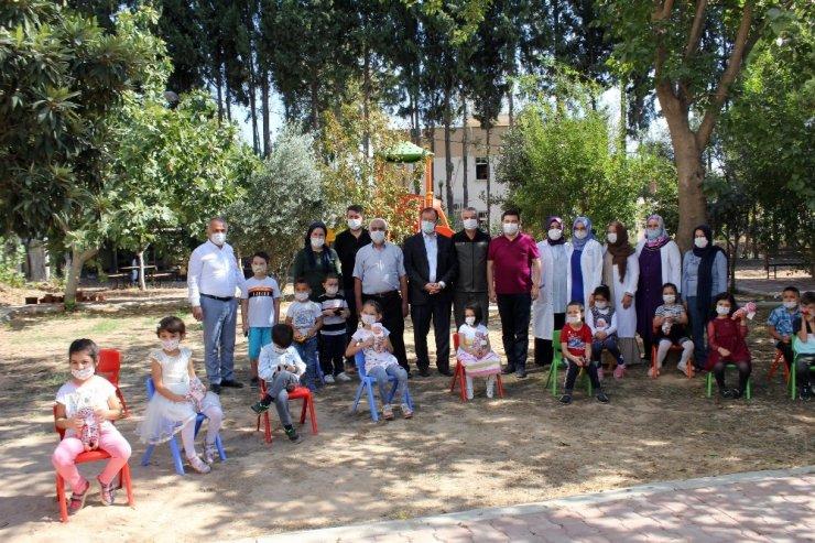 Antalya'da öğrencilerin harçlıkları Hatay'ı yeniden yeşillendirecek