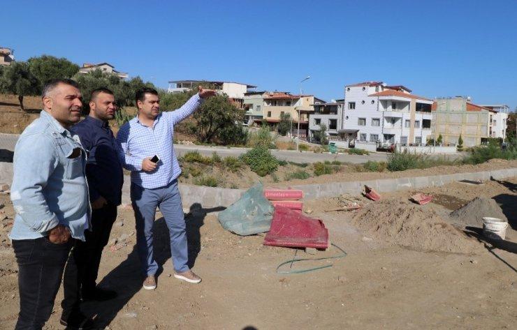 Turgutlu'da çalışmalar yerinde incelendi