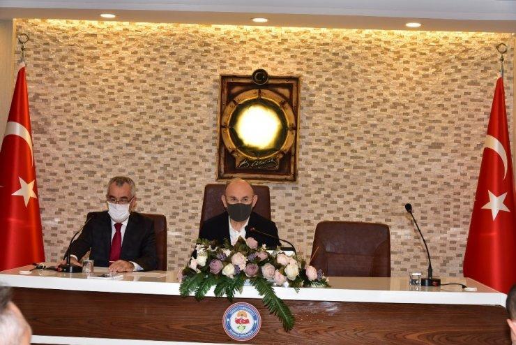 Manisa'da İl Umumi Hıfzıssıhha Kurulu Toplantısı gerçekleştirildi