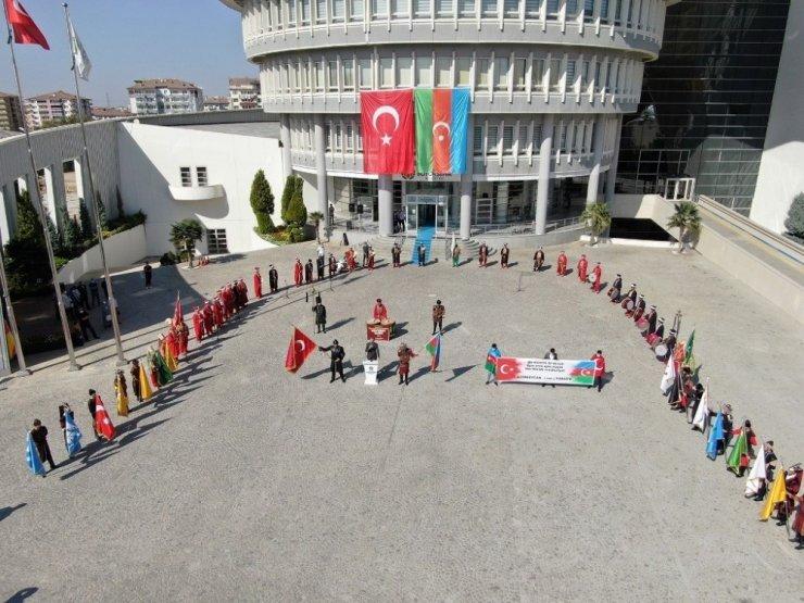 Mehteran takımından Azerbaycan'a destek konseri