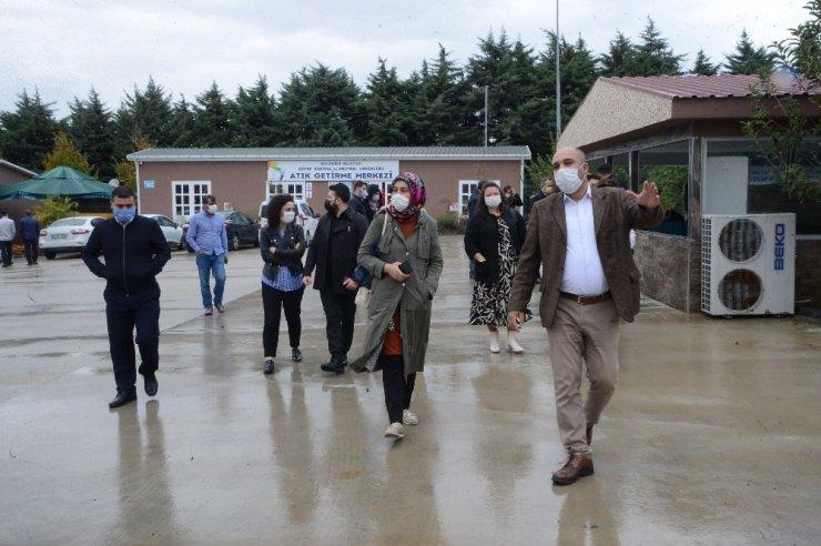 Örnek 'Merkez'e belediye temsilcilerinden ziyaret