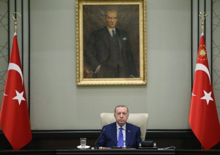 Cumhurbaşkanlığı Kabinesi, Cumhurbaşkanı Recep Tayyip Erdoğan başkanlığında Beştepe'de toplandı