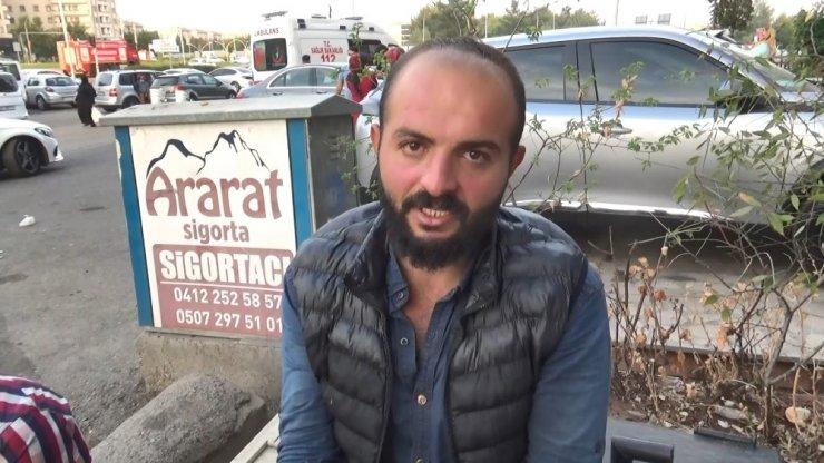 Diyarbakır'da korkutan yangın: 4 kişi dumandan etkilendi