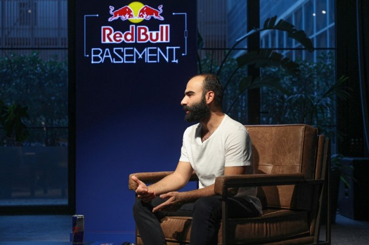 Girişimci adayları RedBullBasement oturumunda buluştu