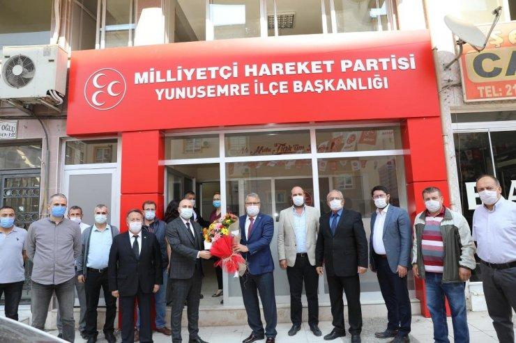 Başkan Çerçi'den güven tazeleyen başkanlara ziyaret