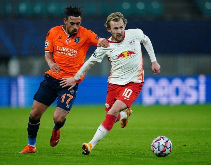 UEFA Şampiyonlar Ligi: Red Bull Leipzig: 2 - M.Başakşehir: 0 (Maç sonucu)