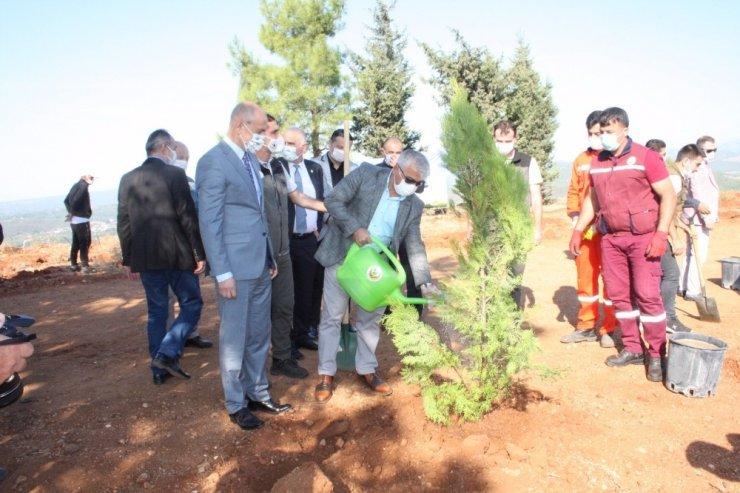 Manavgat'ta Bin ağaç dikildi, bin ağaç dağıtıldı