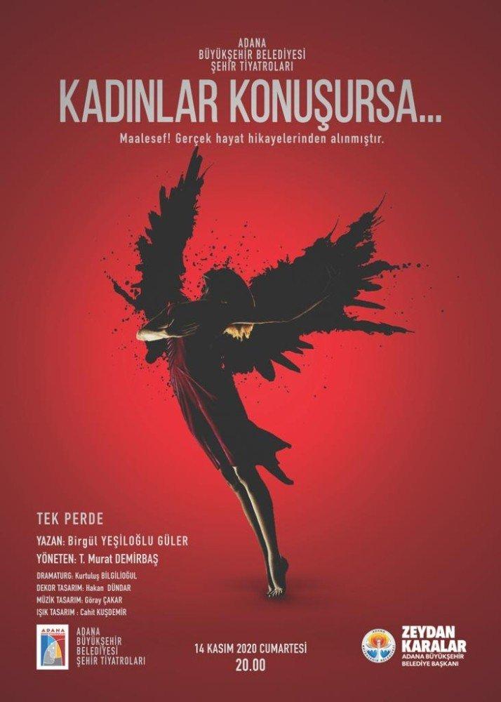 Adana Büyükşehir Belediyesi Şehir Tiyatroları sezonu 3 oyunla açıyor