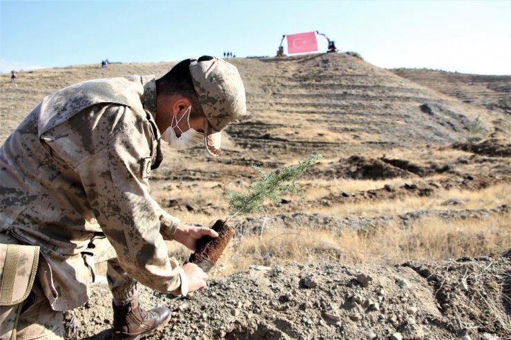 Elazığ'da 15 bin fidan toprakla buluştu