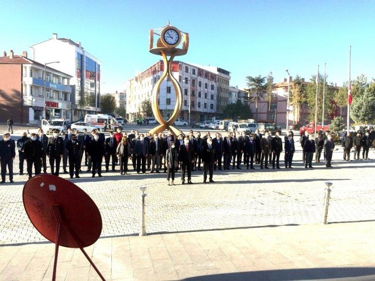 Kulu'da Atatürk vefatının 82'inci yıl dönümünde anıldı