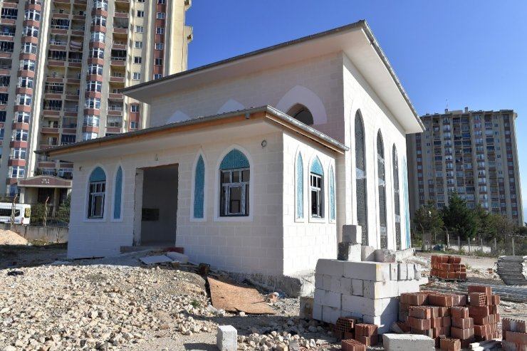 Osmangazi'den Yenikent'e modern cami