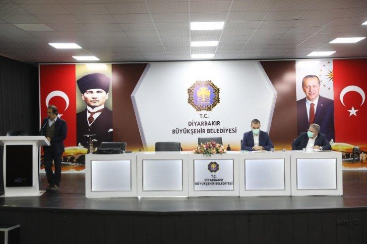 Diyarbakır Büyükşehir Belediyesinden personele iş güvenliği eğitimi