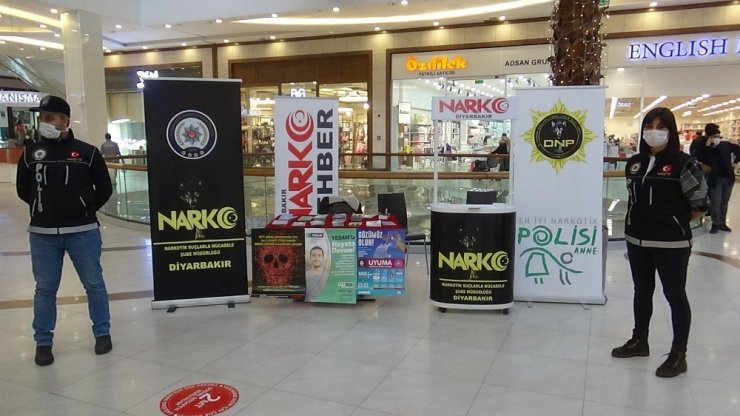 """Diyarbakır """"En iyi Narkotik Polisi Anne"""" projesi tanıtıldı"""